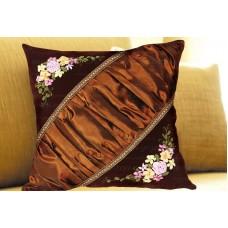 Набор для вышивки подушки лентами EE-PL0003