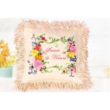 Набор для вышивки подушки лентами EE-PL0007