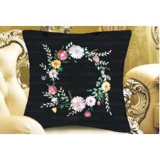 Набор для вышивки подушки лентами EE-PL0021