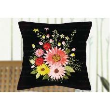 Набор для вышивки подушки лентами EE-PL0022