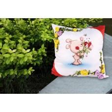 Набор для вышивки подушки лентами EE-PL0041