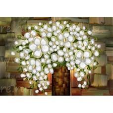 Алмазная мозаика с круглыми стразами EE-RD00009
