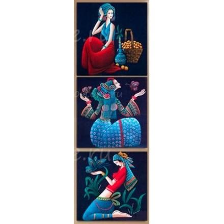 Алмазная мозаика триптих EE-TD0012